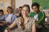 adolescents en classe-l'ecole de la Reussite